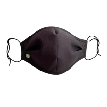 Load image into Gallery viewer, Comfortable Face Mask. 4 Ply with non-woven filter. Washable, Reversible, UK Handmade. - Bamboezor London