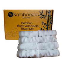 Load image into Gallery viewer, Premium Quality Bamboo Washcloth Towel Set (8-Pack) - Bamboezor London