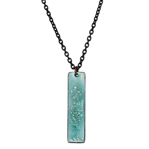 Cartouche Necklace in Robin's Egg Blue