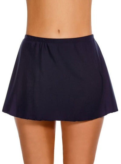 Miraclesuit Skirted Midnight Blue Bottom - Key West Swimwear