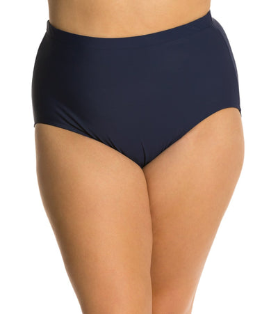 Penbrooke Plus Basic Brief Navy - Key West Swimwear