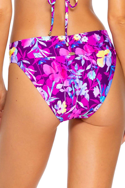 Sunsets Evening Blooms Bali Bottom - Key West Swimwear