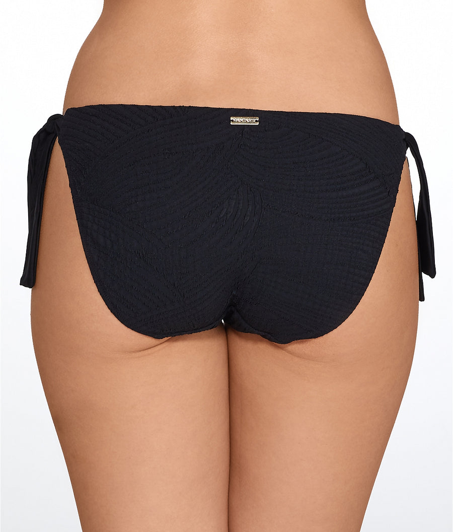Fantasie Classic Tie Side Brief Ottawa Black - Key West Swimwear