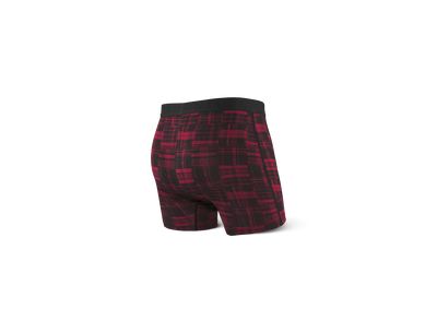 SAXX Underwear Vibe Red Patched Plaid - Key West Swimwear