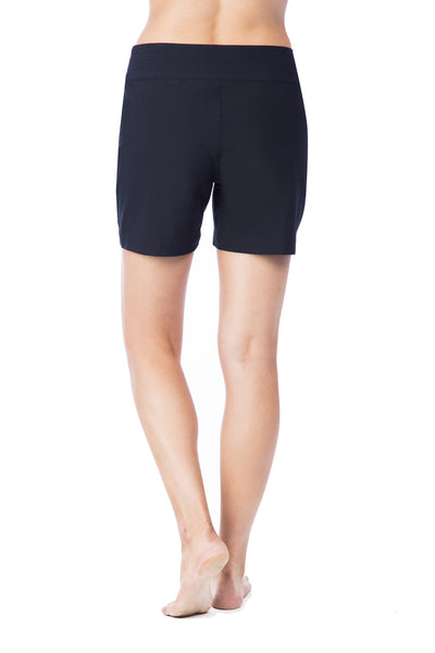 La Blanca 5 inch Board Short Black - Key West Swimwear