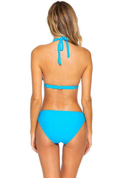 Sunsets Poolside Blue Femme Fatale Hipster Bottom - Key West Swimwear