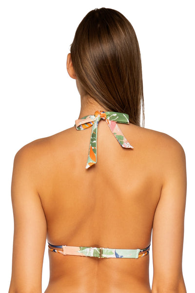 Sunsets Serendipity Marilyn Halter Top - Key West Swimwear
