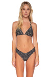Swim Systems Black Sand Mila Tri Top - Key West Swimwear