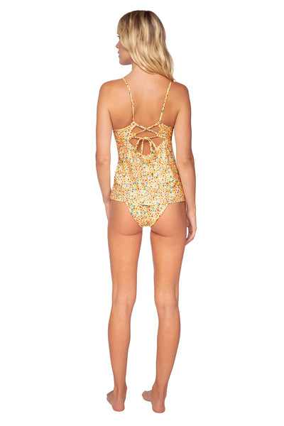 Swim Systems Wildflower Meadow Nora Tankini Top - Key West Swimwear