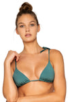 B Swim Dark Sage Tulum Tie-Tri Top - Key West Swimwear