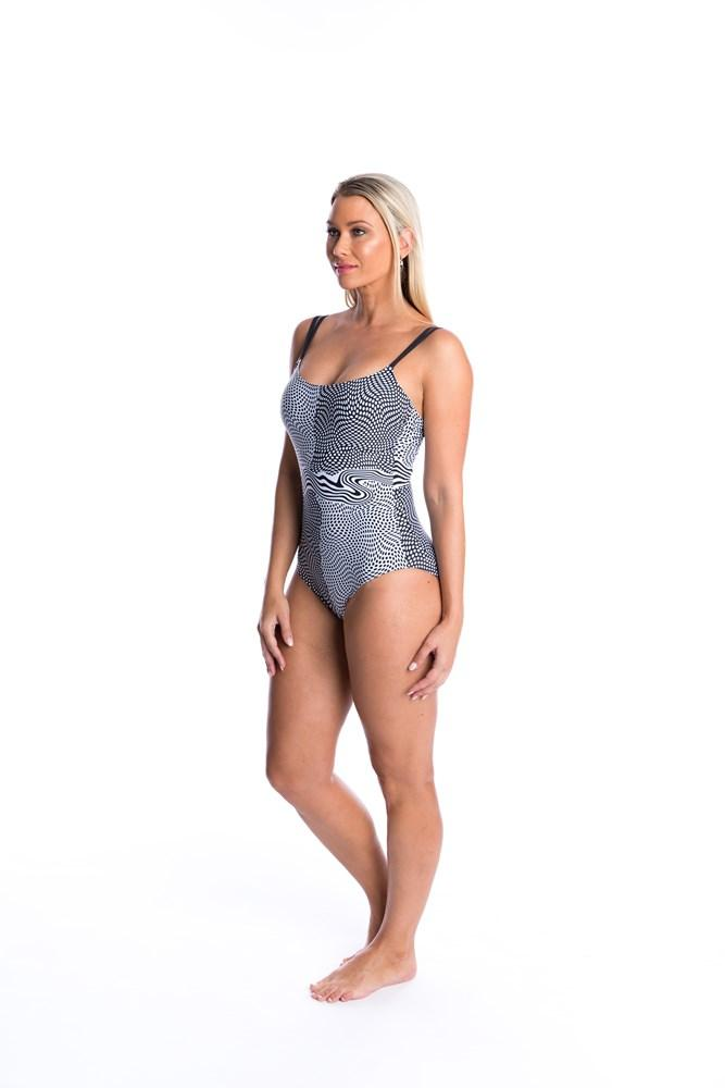TOGS Dot To Dot Double Strap One Piece - Key West Swimwear
