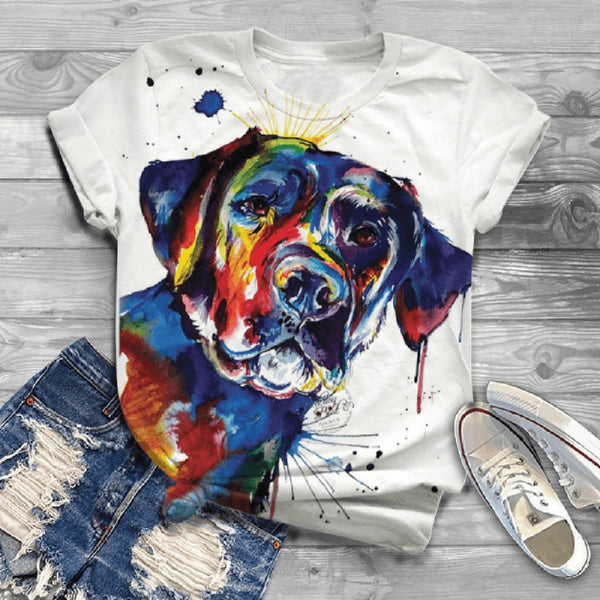 Colors Women T Shirt