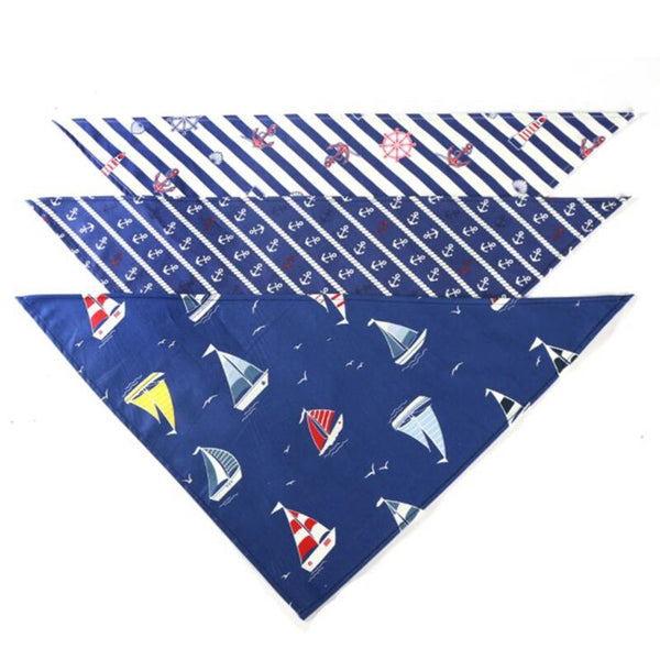 Sailor Design Dog Bandana