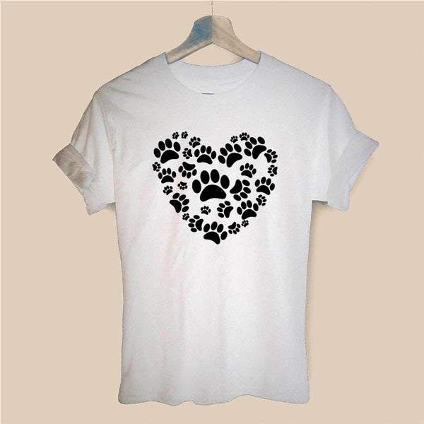 Love Paws Women T Shirt