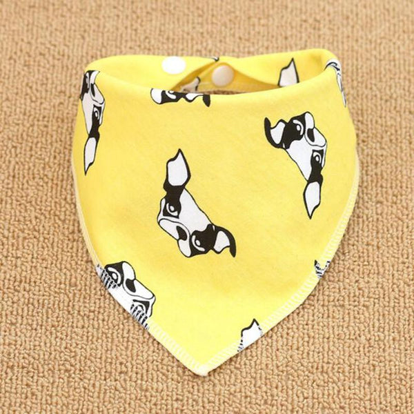 Cotton Plaid Washable Dog Bandana