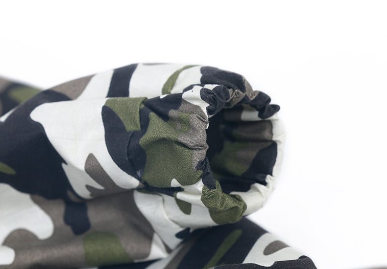 Camouflage Rain Coat Dog Jacket