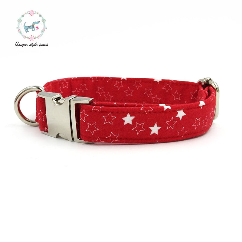 Shining Star Dog Collar with Bow and Leash