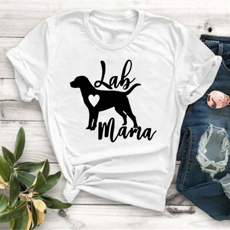 Lab Mama Women T Shirt