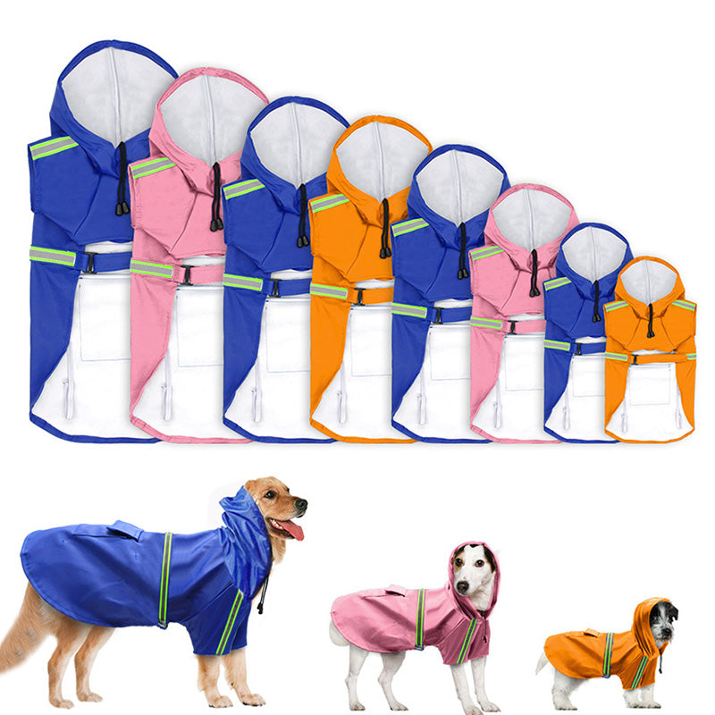 Dog Rain Coat Jacket