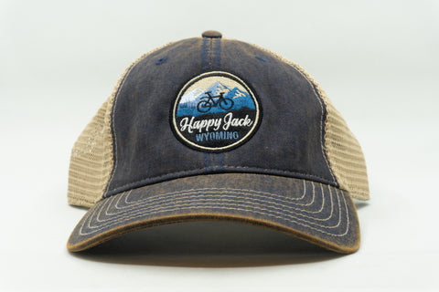 Bike Happy Jack Dad Cap