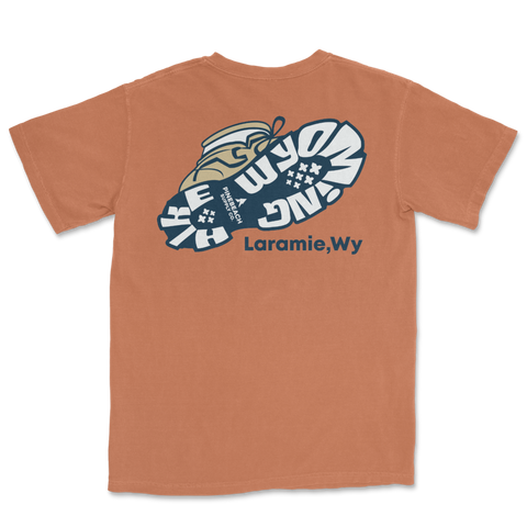 Hike Wyoming Short Sleeve Tee