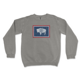 Wyoming Flag Crew Neck