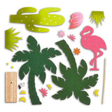 Wood & Felt Craft Kit - Make a Flamingo
