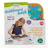 Chalkboard colouring book - Dinosaurs