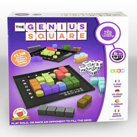 The Genius Square Puzzle Game