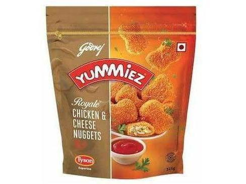 Ready To Eat - Godrej Yummiez- Royale Chicken & Cheese Nuggets (325 Gms)