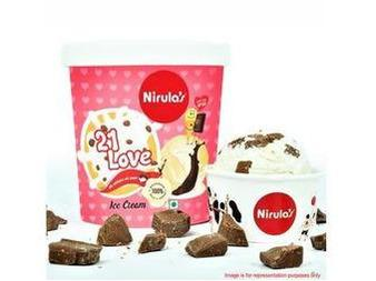 Indulgence - Nirula's - 21 Love Ice Cream Tub (120 Ml)