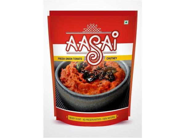 Aasai - Fresh Tomato Chutney (150 gms)- Next Day Delivery