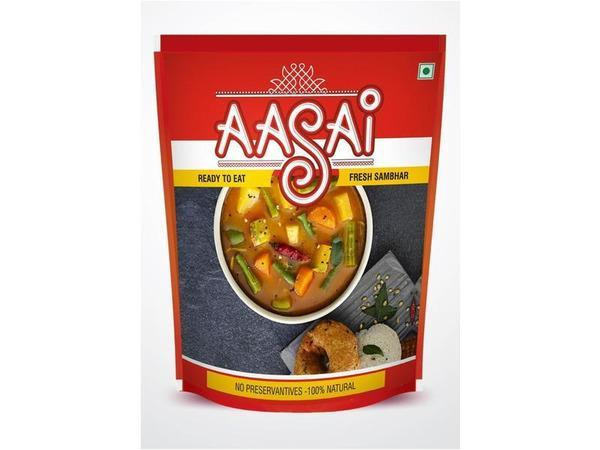Aasai - Fresh Sambhar (1 Litre)- Next Day Delivery
