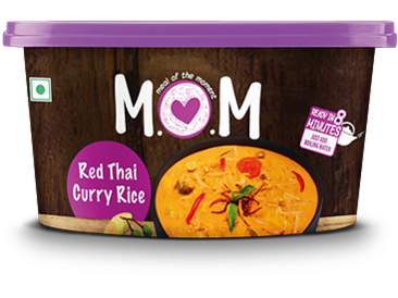 HoiPure - MOM - Red Thai Curry Rice