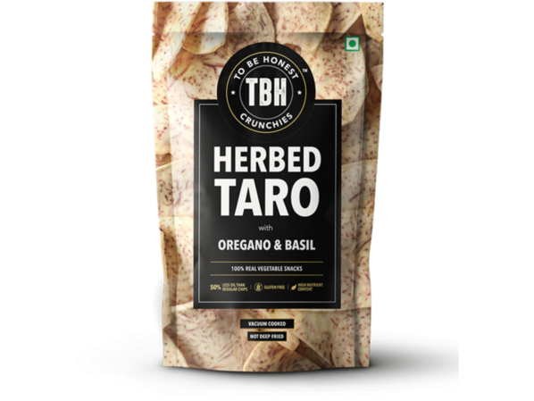 To Be Honest - Herbed Taro Chips (85 gms)