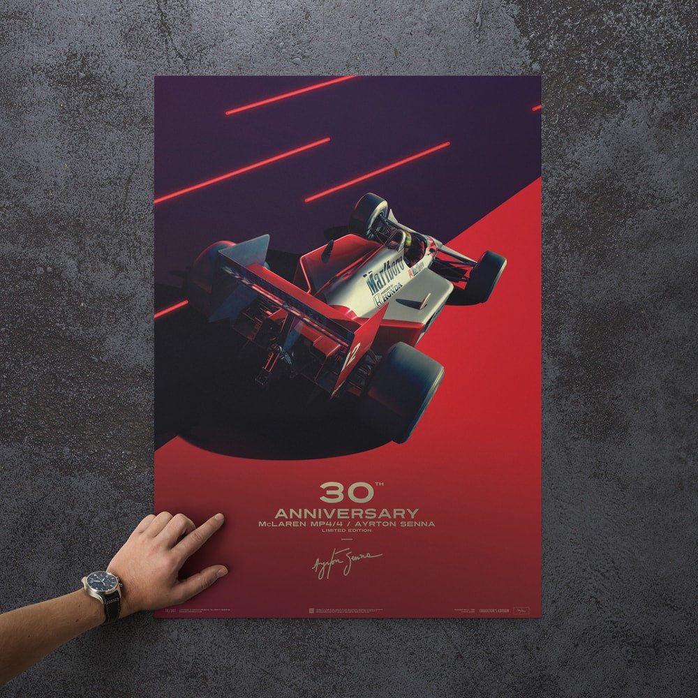 McLaren MP4/4 - Ayrton Senna - San Marino GP - 1988 | Collector's Edition