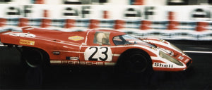 Load image into Gallery viewer, Porsche 917 - Salzburg - 24h Le Mans - 1970 - Colors of Speed Poster