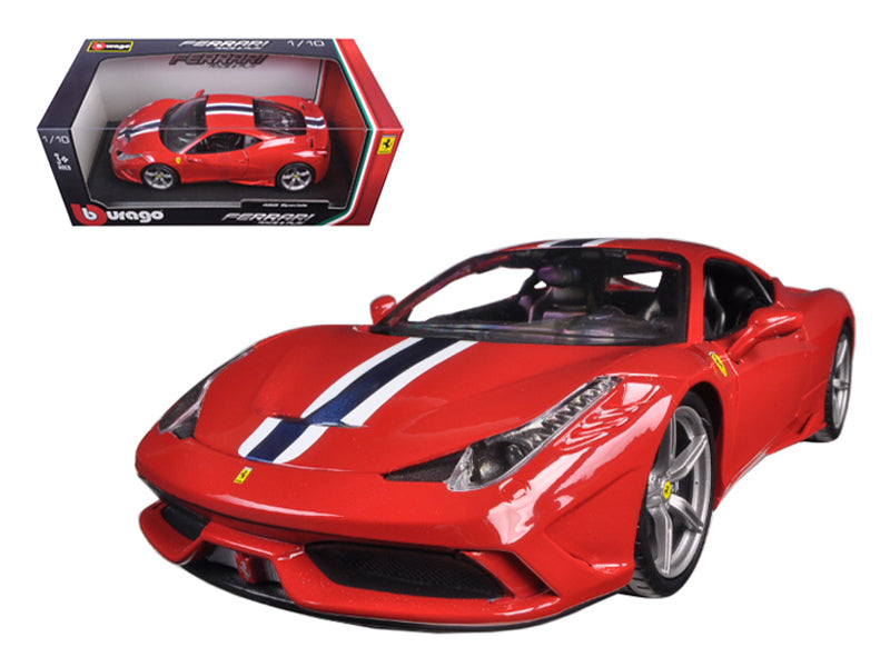 Ferrari 458 Speciale Red 1/18 Diecast Model Car by Bburago