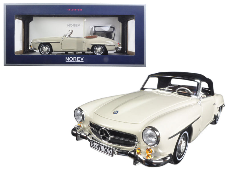 1957 Mercedes 190 SL Beige 1/18 Diecast Model Car by Norev