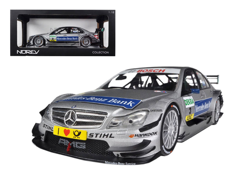 Mercedes C Class DTM 2011 #3 Spengler 1/18 Diecast Car Model by Norev
