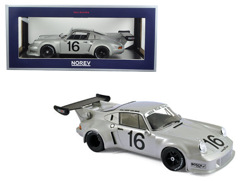 Load image into Gallery viewer, Porsche 911 RSR #16 Mid-Ohio 3 Hours 1977 Follmer/Holmes 1/18 Diecast Model Car by Norev
