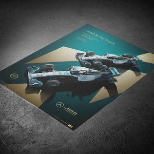 Mercedes-AMG Petronas Motorsport - 2014 - Duel In the Desert | Collector's Edition