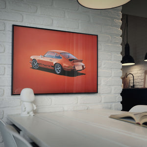 Load image into Gallery viewer, Porsche 911 RS - Tangerine - Colors of Speed Poster