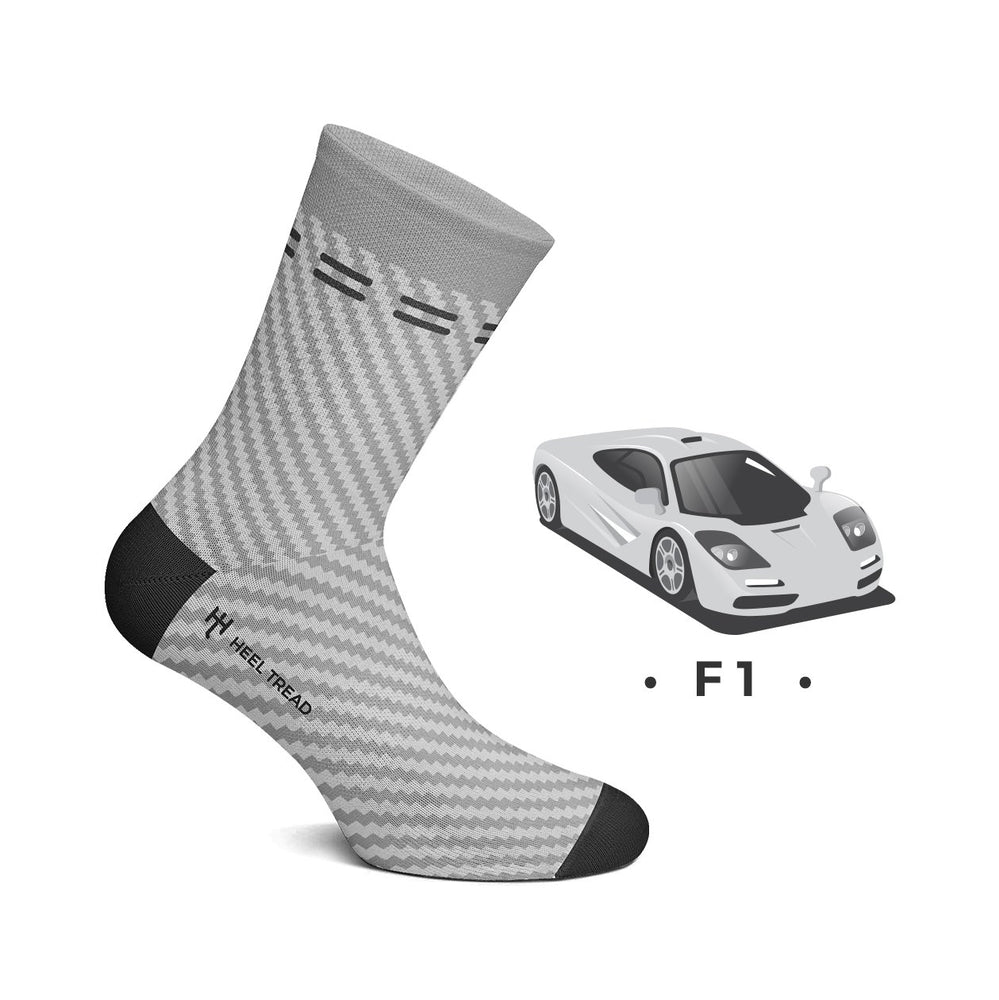 F1 Carbon socks