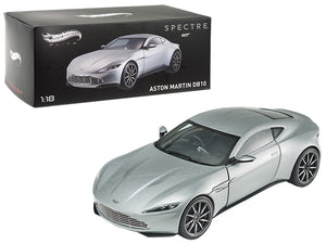 "Elite Edition Aston Martin DB10 James Bond 007 From ""Spectre\"" Movie 1/18 Diecast Model Car  by Hotwheels"