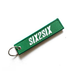 SIX2SIX Remove Before Drive Fabric Keychain