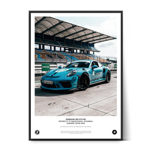 SIX2SIX Europe Tour Porsche 991 GT3RS Poster