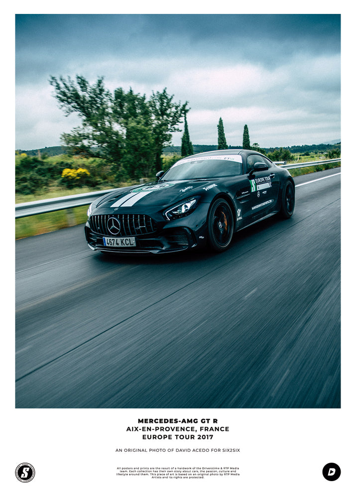 Lámina SIX2SIX Europe Tour Mercedes-AMG GT R