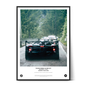 Load image into Gallery viewer, SIX2SIX Europe Tour Pagani Zonda LM Poster