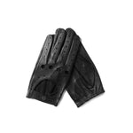 Guantes de conducir negros Cafe Leather Triton All Black